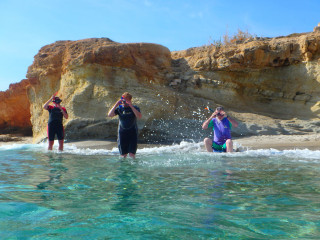 02-Snorkelling-at-various-locations-on-Crete